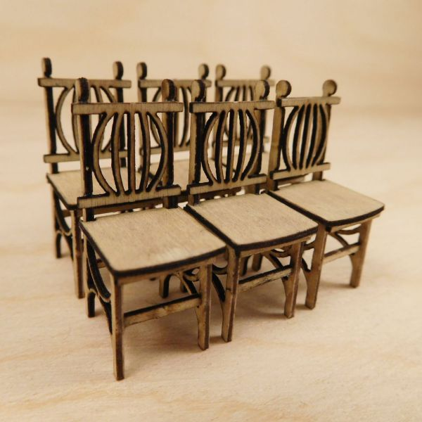 A35023 Ornamental Chairs