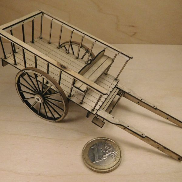 <p>This big set features 83 laser-cut and -engraved parts from different thicknesses of plywood and laserboard.<br />