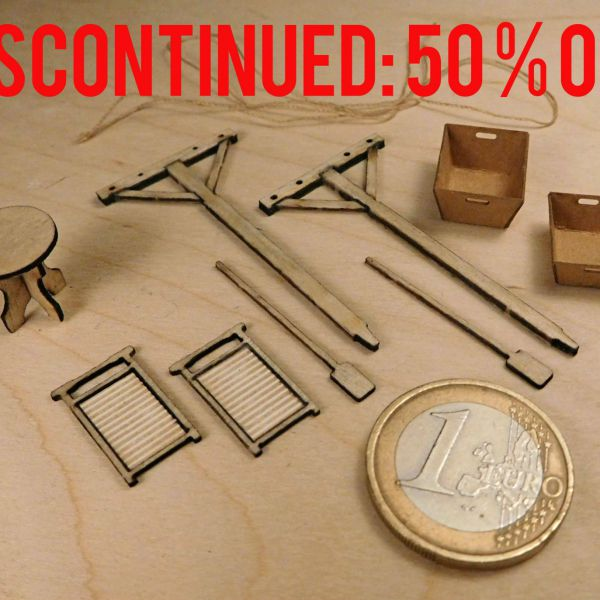 <p>DISCONTINUED ITEM: 50% OFF<br />
