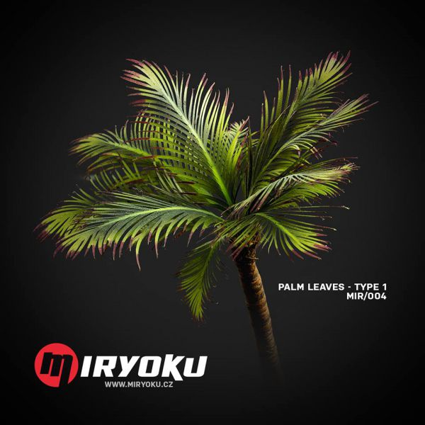 MIR/004 Palm Leaves Type 1