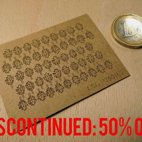 <p>DISCONTINUED: 50% OFF.<br />