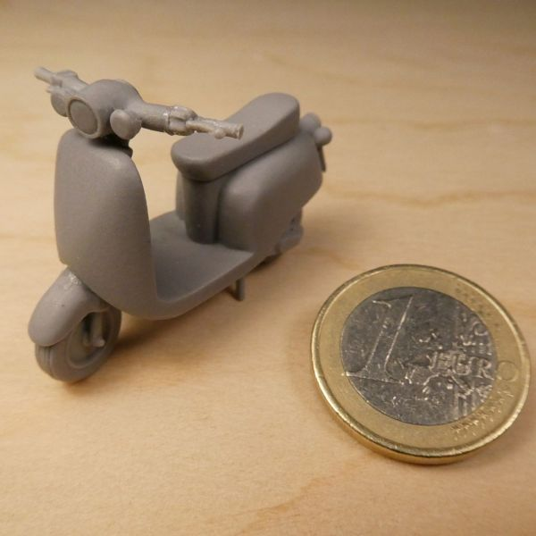 <p>Contains parts to assemble a civilian style scooter.</p>